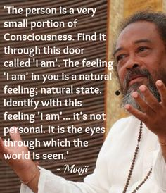 "This door called ""I am"" Mooji"