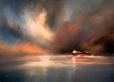"""Pastel artist Les Darlow """"The Riverdance"""" with Unison pastels"""