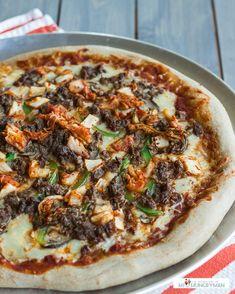 Bulgogi Kimchi Pizza @Min