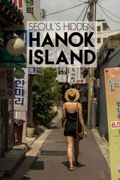 """Seoul has a secret hanok village known as """"hanok island"""" and is worth checking out!!!"""