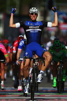 Marcel Kittel wins stage 2 of the 2016 Giro d'Italia photo Bryn Lennon/Getty Images