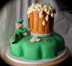 St. Pat's Day cake by Cakes by Sonja, via Flickr