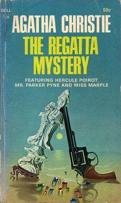 The Regatta Mystery (1968) by Book Covers: Vintage Paperbacks, Mars Sci-Fi, via Flickr