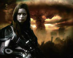 "Terminator Cameron from TV-show ""TERMINATOR: The Sarah Connor Chronicles"" fanart. I own nothing! - this artwork was made by russian's author s1nod from from digitally processed original images: , ...."