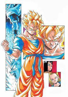DragonBall Fan Art y Sketch 17 mayo 2015 Mirai Gohan, Dbz Gohan, Dragon Ball Z, Anime Echii, Anime Art, Manga Dragon, Desenho Tattoo, Z Arts, Fan Art