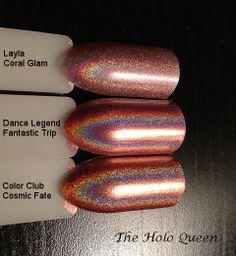 The Holo Queen: Comparison Swatch Sticks