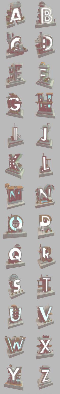 Archetype by Ritchie Wijaya, via Behance  typographyserved.com