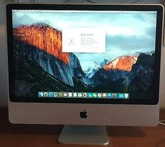 """24"""" #apple imac #(2008)  2.8 ghz 6gb #intel core duo,  View more on the LINK: http://www.zeppy.io/product/gb/2/152153961413/"""