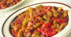 Chakchouka algéroise La tchouktchouka, chekchouka ou chakchouka, felfla ou encore salade de ...