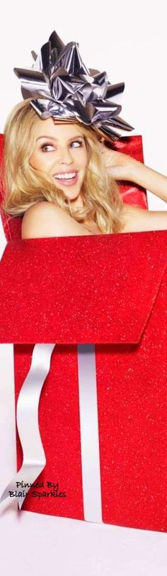 Kylie Minogue for Kylie Christmas ♕♚εїз  | Blair Sparkles