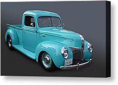Classic Ford Pickup Photograph by Bill Dutting - Classic Ford Pickup Fine Art Prints and Posters for Sale