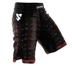 SMMASH MMA Shorts SAMURAI S M L XL XXL XXXL MMA BJJ UFC sport di combattimento (M)