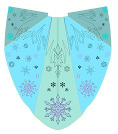 Finally got to refine the pattern for my Elsa cape. I have 10 yards of blue organza to make it. Supposed to come out 140 inches long. Still mulling over how to actually put the pa. Elsa Cosplay, Frozen Cosplay, Frozen Costume, Disney Cosplay, Frozen Elsa Dress, Disney Frozen Elsa, Frozen Fashion, Cape Designs, Ice Dresses