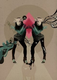 Digital Arts Magazine   Collaboration Tutorial by Stephen Chan, via Behance