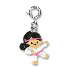 Charmit Karate Girl Charm - $5.00