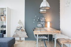 Interior Design Objet Deco Design, Scandinavian Interior, Scandinavian Style, Scandinavian Christmas, Scandinavian Kitchen, Scandi Style, Dining Room Design, Dining Furniture, Diy Furniture