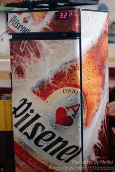 Pilsener, el sabor de El Salvador. Mercadito de antiguo Cuscatlán - El Salvador