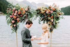 A dreamy glamorous elopement in Gstaad, Switzerland. Read that story! Beautiful Words, Gstaad Switzerland, Vows, Glamour, Wedding, Most Beautiful Words, Valentines Day Weddings, Pretty Words, Weddings