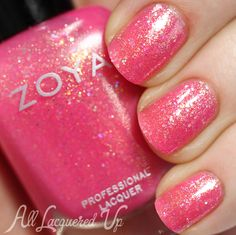 Zoya Bubbly for Summer 2014 – Swatches