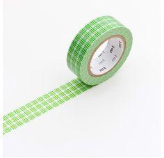 Masking Tape - Nastro Masking Tape Petit Ecolier Green - Shop now On www.lesparigotes.com