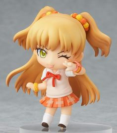From the popular social game, 'IDOLM@STER Cinderella Girls' comes a collection of Nendoroid Petite...