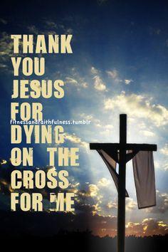 thank you Jesus  www.facebook.com/FitnessandFaithfulness