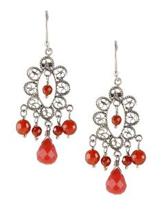 #YvonneChrista for #FirstPeopleFirst #orecchini in #argento #925 #earrings #silver #bohochic #hippiechic #Style #fashion #red