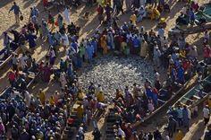 YannArthusBertrand2.org - Fond d écran gratuit à télécharger || Download free wallpaper - Retour de pêche à Kayar, Sénégal (14°55' N - 17°07' O).
