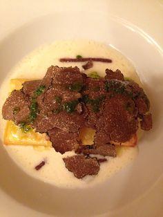 Lasagne met truffel uit Norcia in Umbrie, Italie   www.regioneumbria.eu