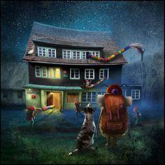 """Observer At the Creek"" By Matylda Konecka."
