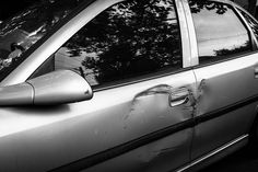 #Auto_Body #Dents_and_Scratches Can be Fixed! - Any damage, whether on the surface or ground in deeper, can be restored to like new conditions using a layer of paint or even paintless dent repair, which will pop the dent out from the inside.