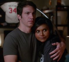 Mindy and Danny in The Mindy Project Season 2, episode 6 - Oh. My. Gosh. <3. I could (and have) watch this part over and over!  So sweet!