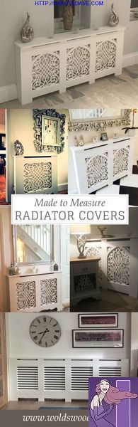 Made to measure and standard size radiator covers. Custom made - choose your cabinet style and grille. Bespoke - made to your measurements. Can come unpainted, primed or topcoated in a satin white. Prices start at for a small Living Room White, My Living Room, Living Room Decor, Kitchen Living, Dining Room, Shabby Chic Kitchen, Shabby Chic Homes, Shabby Chic Decor, Country Kitchen