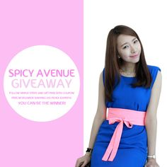 Free Giveaway from Spicy Avenue  ☺ ☺  ☺