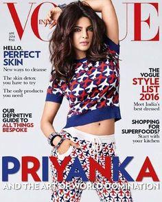 Priyanka Chopra for Vogue India April 2016