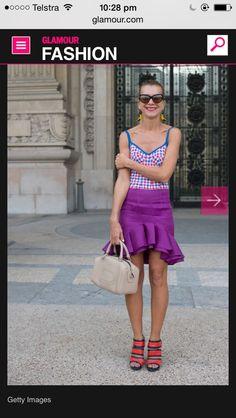 Love this Colour skirt   Bang.  Xx