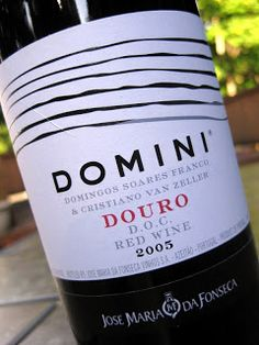 Domini Douro Portuguese Red Wine - A blend of three Portuguese grapes: Touriga Franca, Touriga Nacional and Tinta Roriz. Rich, medium-bodied and elegant. Serve this with a roasted leg of lamb or grilled steaks. $15.00