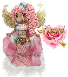 Cupid  Angel of Love  12 OOAK Custom Crochet by MissyVille on Etsy