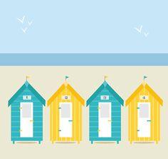 Beach huts #LoveIt