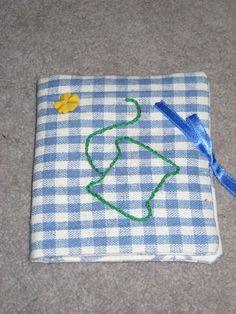 Handmade Gingham Cotton Sewing Needlecase. £3.50, via Etsy.