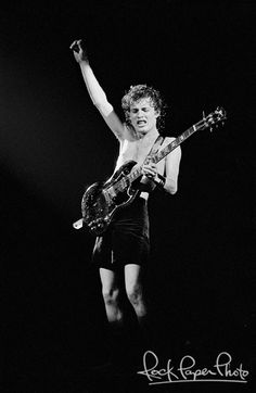 Angus Young of AC/DC. This is one of the few big-name rock bands I've never seen. They will tour the U.S. in late summer 2015.