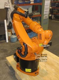 Which companies have many expenses and cannot afford to purchase new robots can also get benefited from used robots: