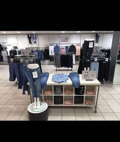 How amazing does our denim section now look thanks to @jordanpsmith  come in and check out our new styles #newlook #newlookwolverhampton #denim #denimlaunch #vm #visual #merchandising