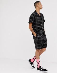 Sixth June shorts in black check