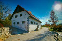 The house where Prešeren was born in Vrba, Slovenia. (Photo: Klemen Čepič)
