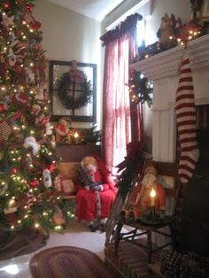 I love this house because it looks like they go all out for Christmas.