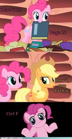 Life is a game, and Pinkie Pie knows all the cheat codes.