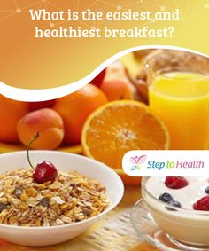 What is the #easiest and healthiest breakfast?  Starting the day with #vitamins and #nutrients is essential for maintaining #energy levels. Here are some tips on the healthiest breakfast plans.