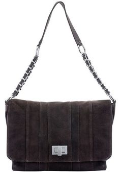 Etoile Suede Leather Shoulder Bag Chocolate | Aventino Brand