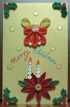 Angel / Candles - Christmas